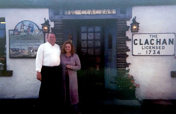 The Clachan Inn at Drymen, near Loch Lomond